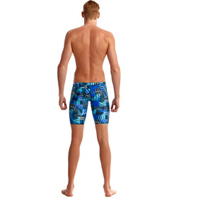 Funky Trunks Training Caleçon de bain Homme, electric nights